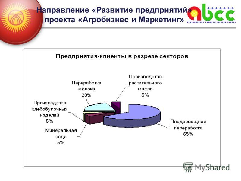 Направление «Развитие предприятий» проекта «Агробизнес и Маркетинг»