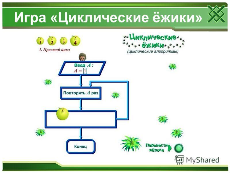 Игра «Циклические ёжики»