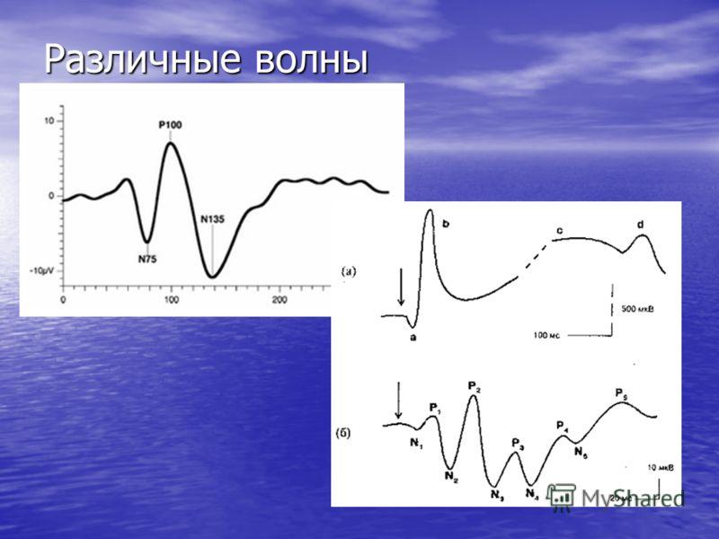 Различные волны