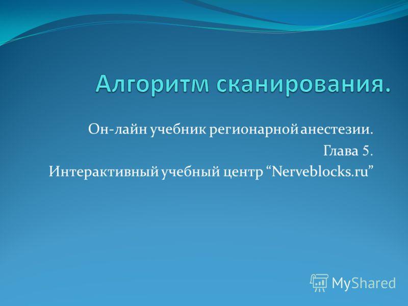 Он-лайн учебник регионарной анестезии. Глава 5. Интерактивный учебный центр Nerveblocks.ru