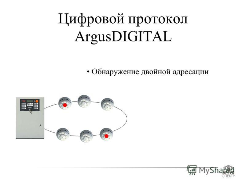 Цифровой протокол ArgusDIGITAL Обнаружение двойной адресации