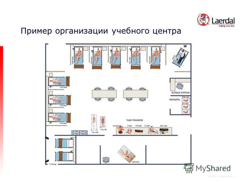 PROJECT NUMBER HERE - 7 Пример организации учебного центра