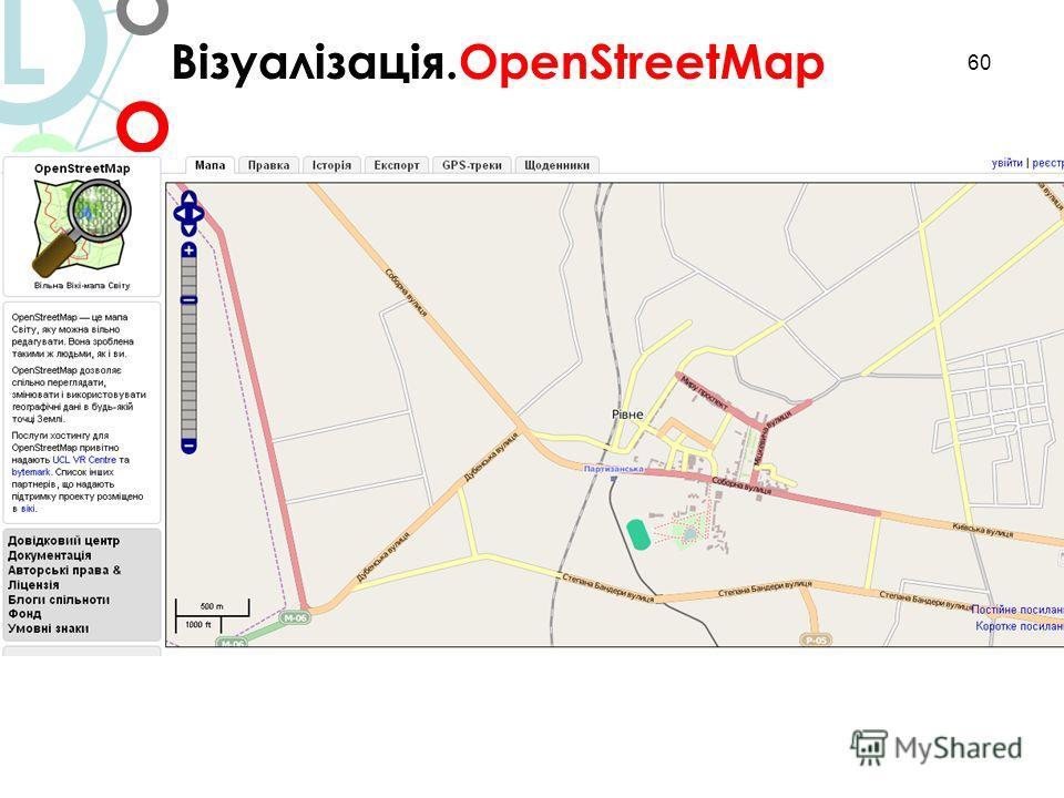 60 Візуалізація.OpenStreetMap L