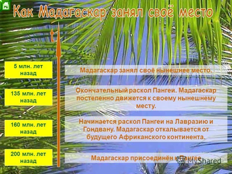 Как Мадагаскар занял своё место Карта Немного истории Республика Мадагаскар Население Животный мир Пейзажи