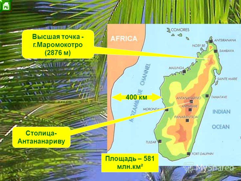 200 млн. лет назад 5 млн. лет назад 135 млн. лет назад 160 млн. лет назад Мадагаскар присоединён к Пангее Начинается раскол Пангеи на Лавразию и Гондвану. Мадагаскар откалывается от будущего Африканского континента. Окончательный раскол Пангеи. Мадаг