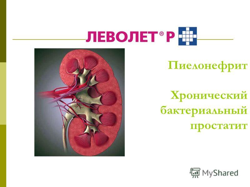 Пиелонефрит Хронический бактериальный простатит