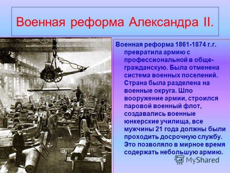 Военные Реформы Александра 2