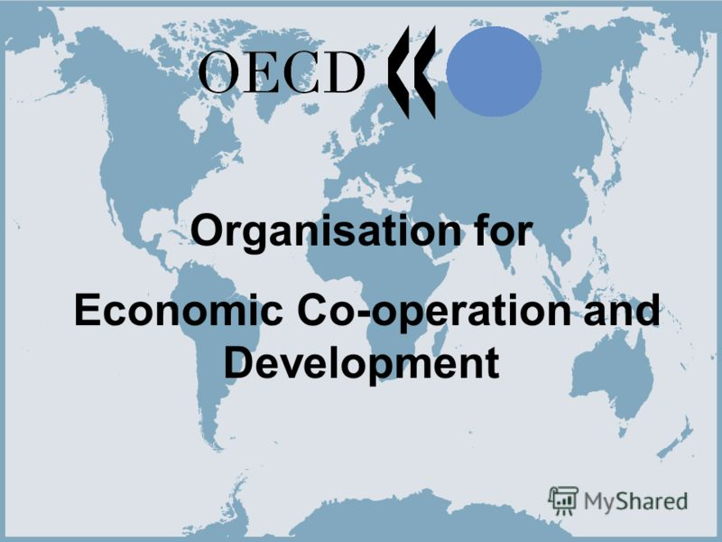 1 Organisation for Economic Co-operation and Development