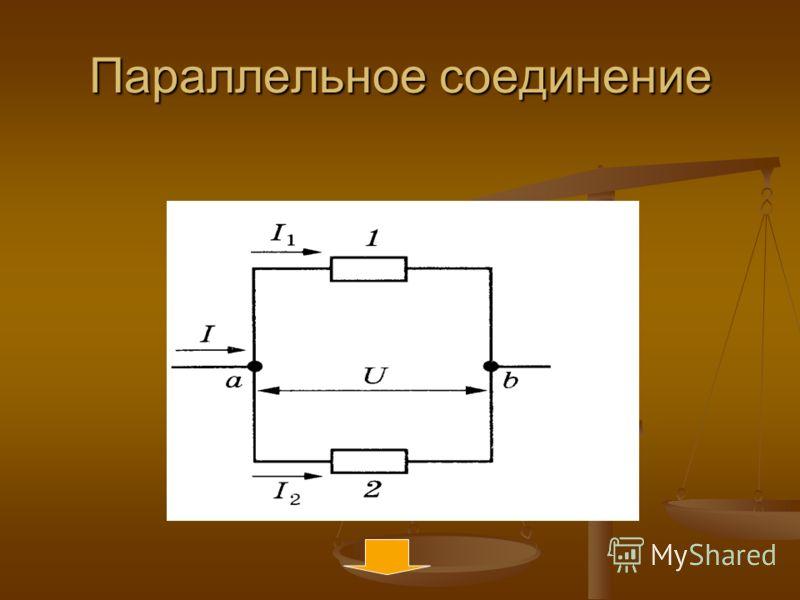 Закономерности соединения I=cost,т.е. I=I 1 =I 2 I=cost,т.е. I=I 1 =I 2 U=U 1 +U 2 U=U 1 +U 2 R=R 1 + R 2 R=R 1 + R 2