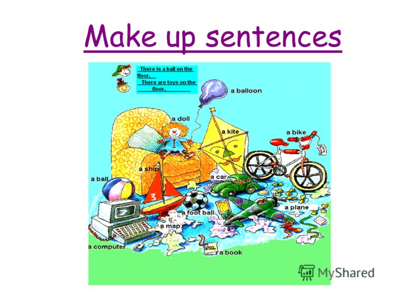 Make up sentences