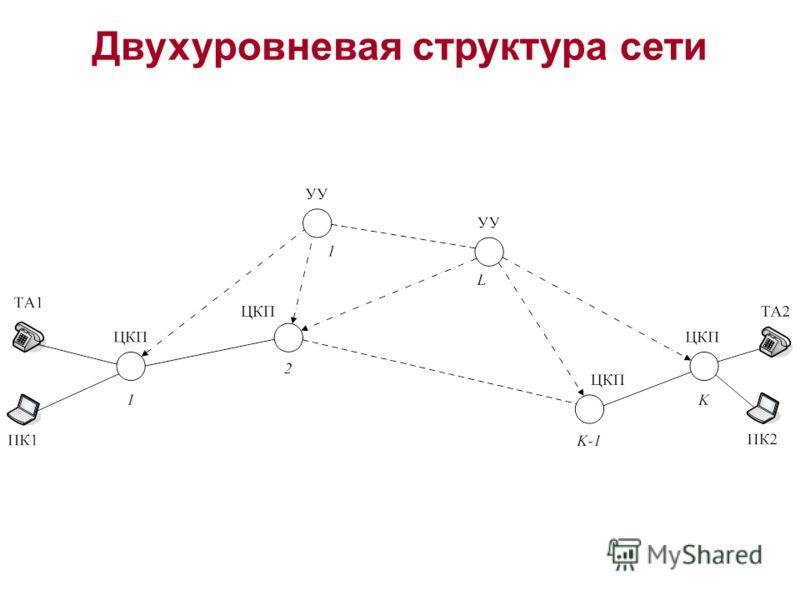 Двухуровневая структура сети