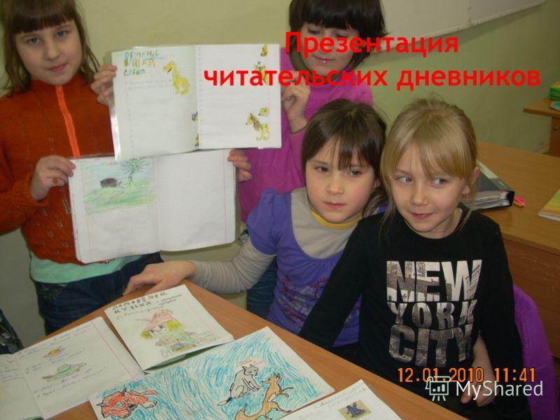 Презентация читательских дневников