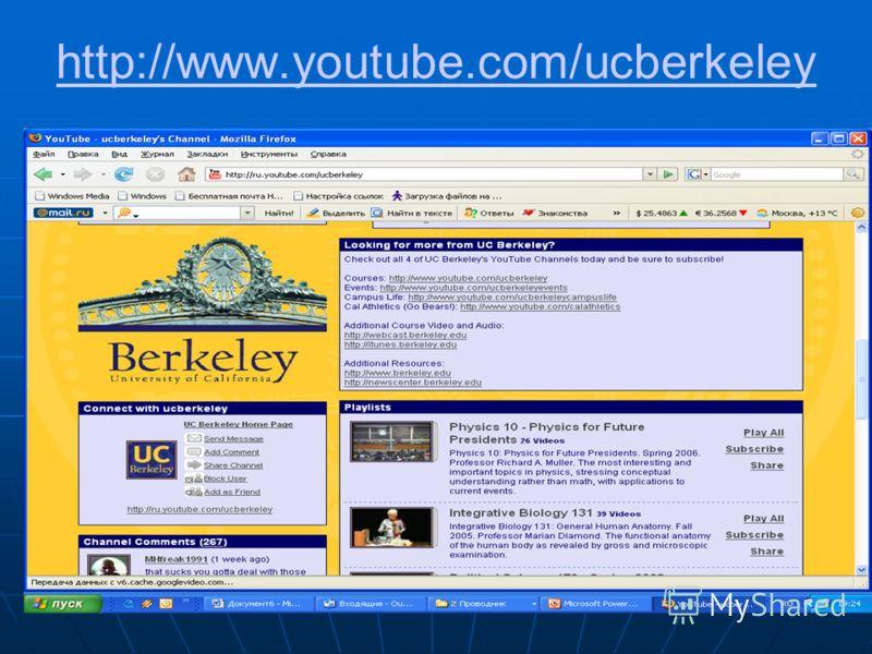 http://www.youtube.com/ucberkeley