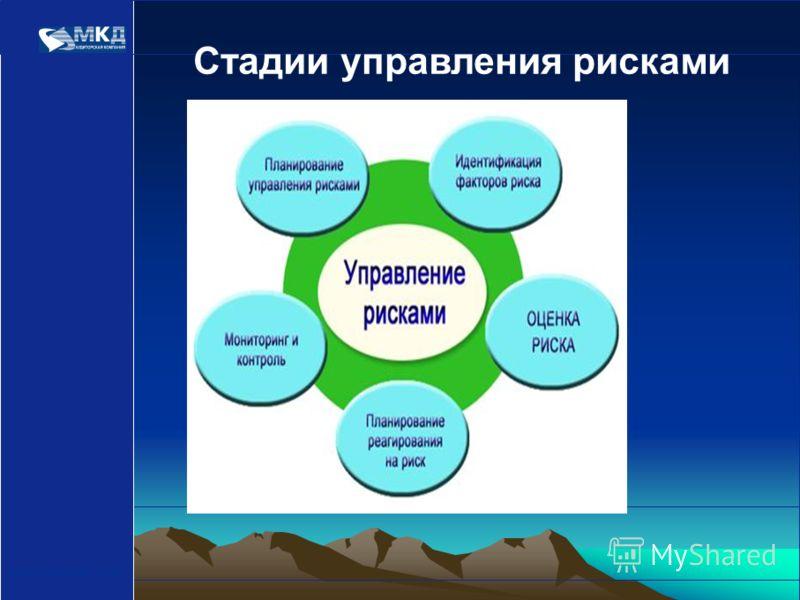 www.mcd-pkf.com Стадии управления рисками