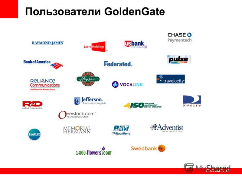 Пользователи GoldenGate