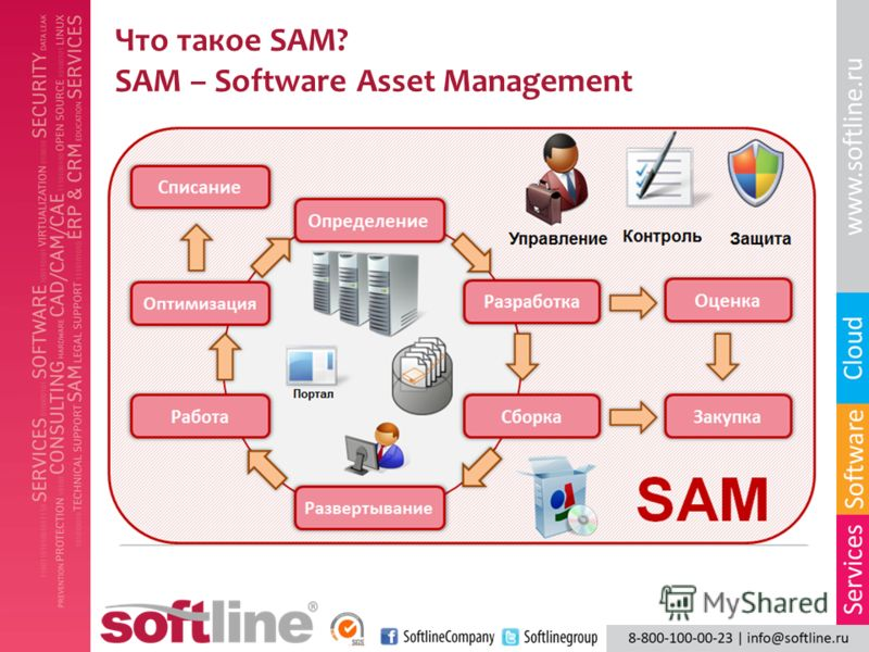 Что такое SAM? SAM – Software Asset Management