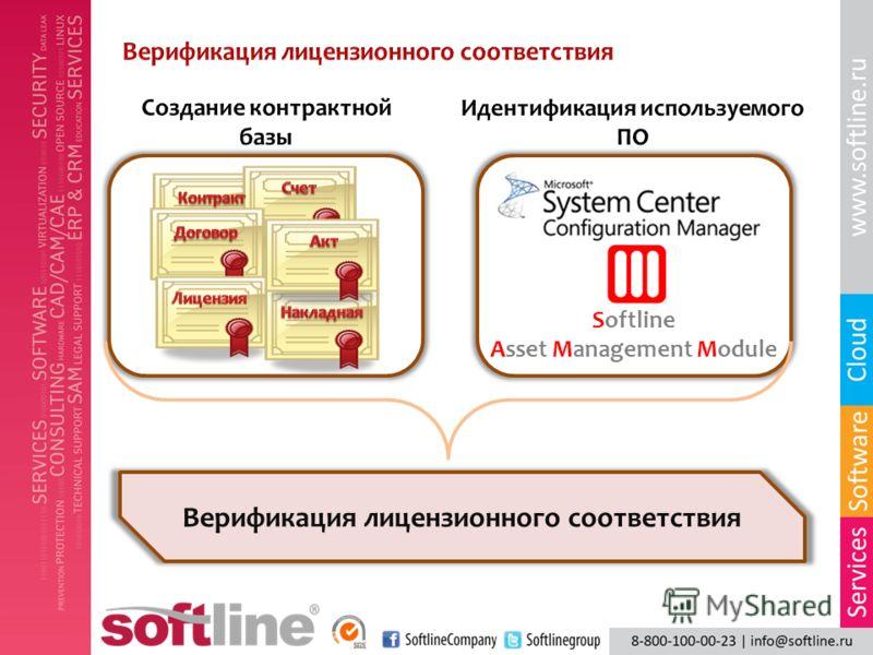 Softline Asset Management Module Верификация лицензионного соответствия