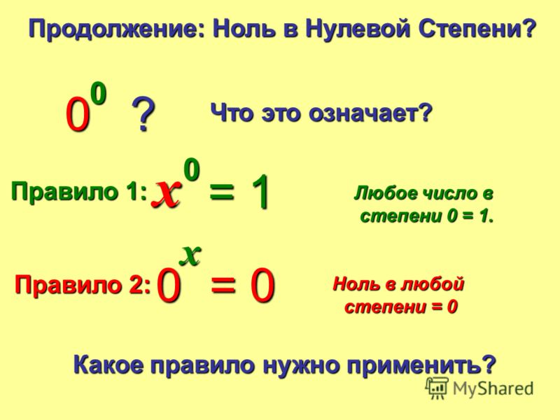 5 –2–2 Попрактикуемся = 0.04 (1/25) 2 –3–3 = 0.125 (1/8) 10 –5–5 = 0.00001 0.05 –6–6 = 64,000,000 3 –3–3 = 0.037 1 –4–4 = 1 1 –14 = 1 2 –1–1 = 1/2 With Calculators No Calculators 037037… 10 –5–5 = 0.00001 4 –2–2 = 1/16 10 –3–3 = 1/1000 3 –3–3 = 1/27