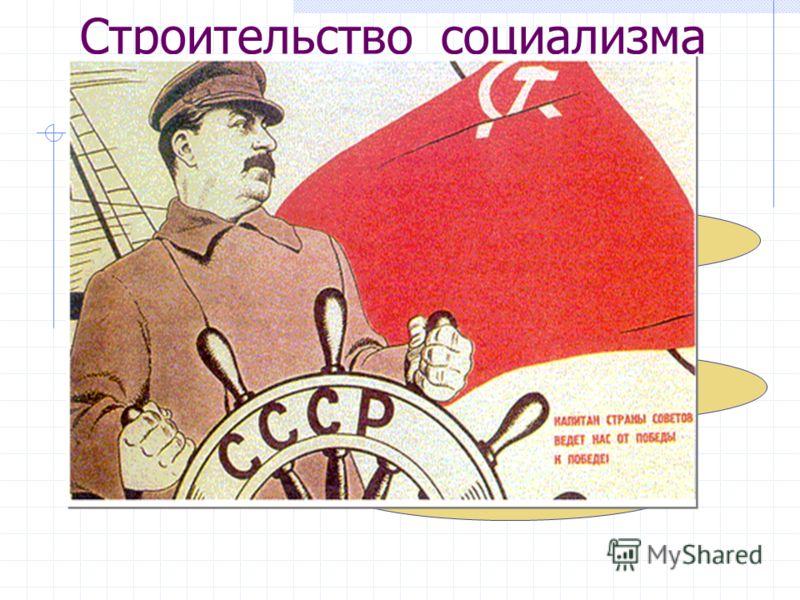 Строительство социализма в СССР Пути построения социализма индустриализация коллективизация Культурная революция