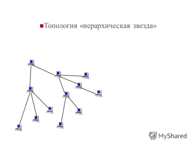 Топология «иерархическая звезда»