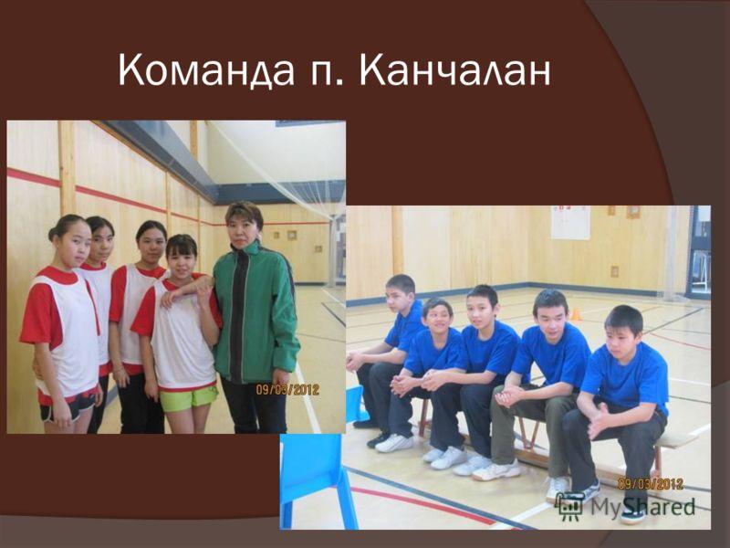 Команда п. Канчалан