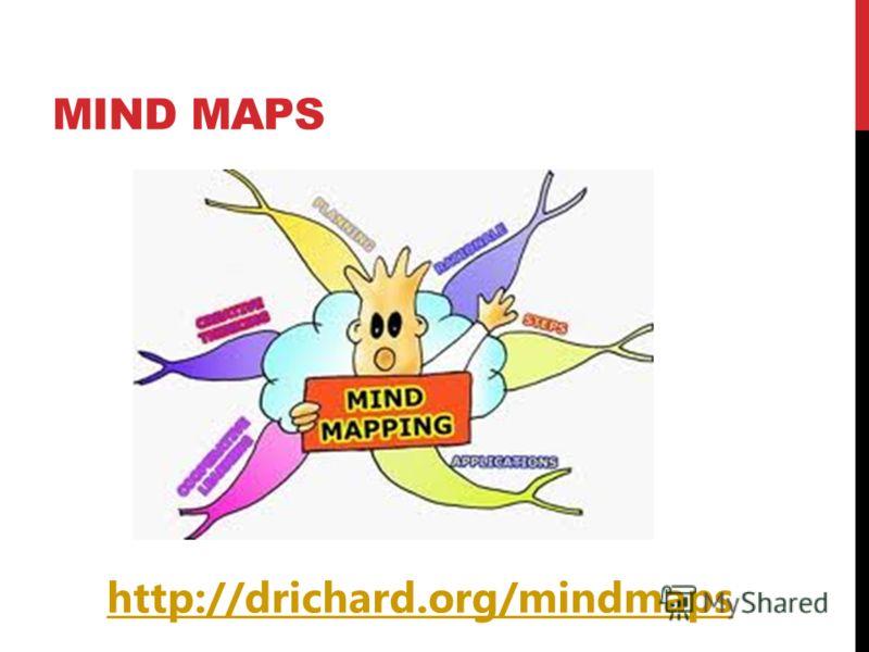 MIND MAPS http://drichard.org/mindmaps