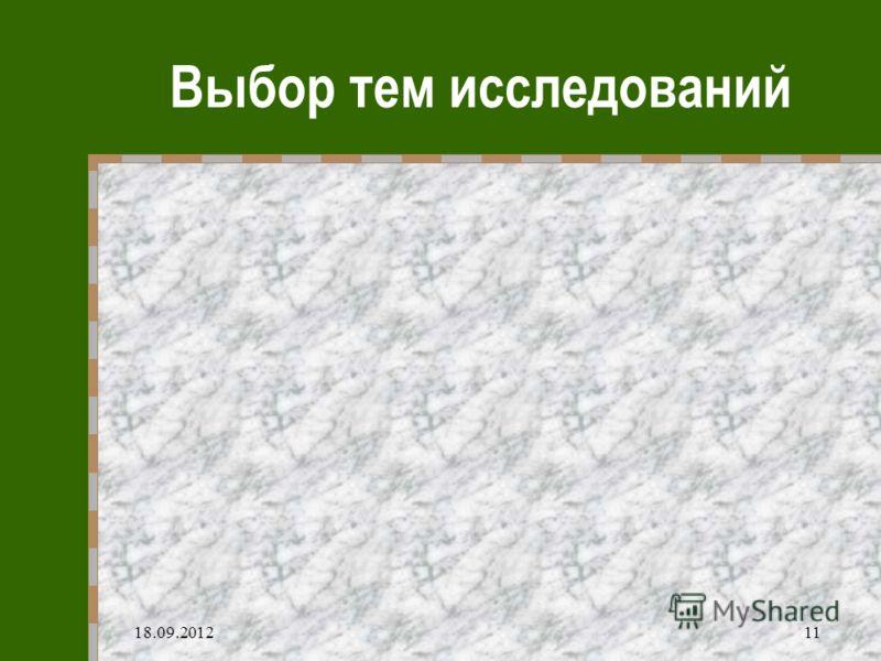 18.09.201211 Выбор тем исследований