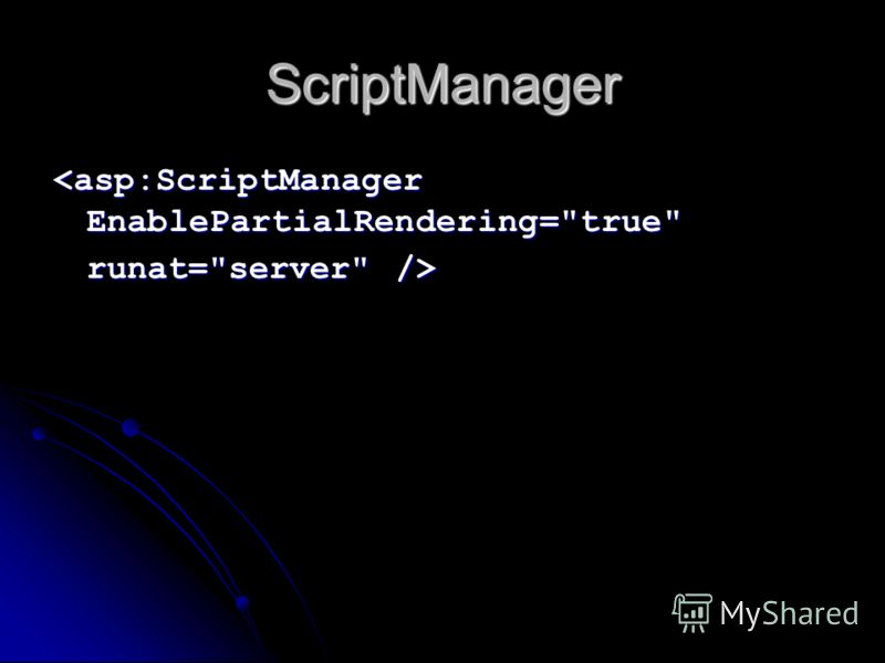 ScriptManager