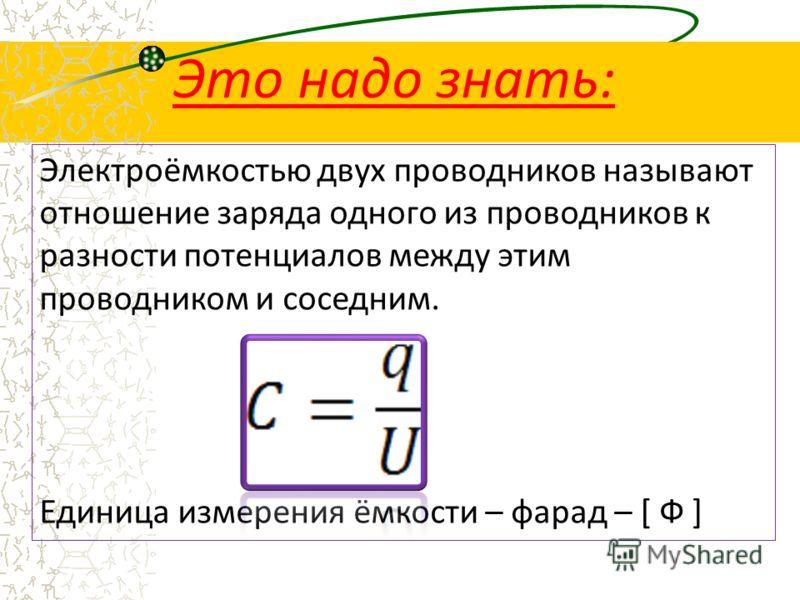 Презентация по физике на тему конденсаторы