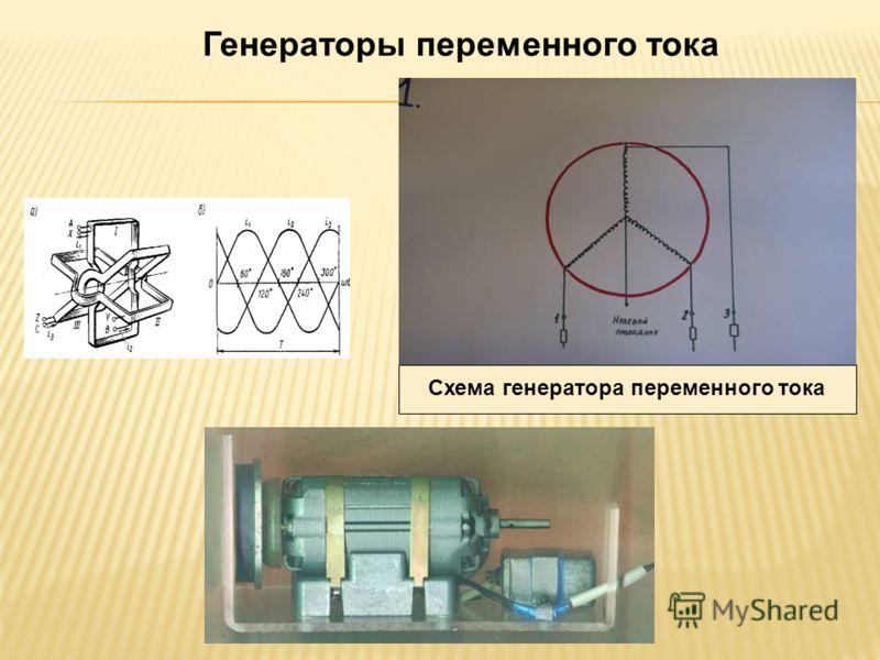 Схема генератора переменного тока Генераторы переменного тока