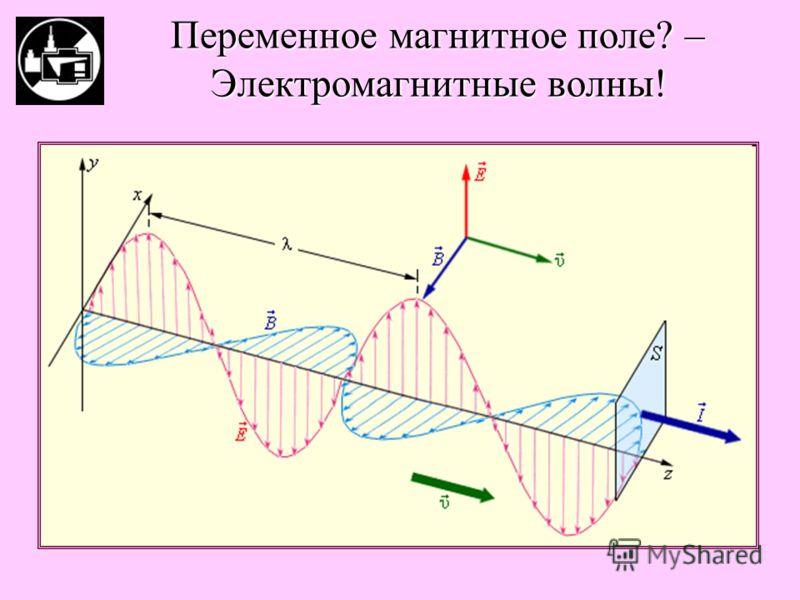 Переменное магнитное поле? – Электромагнитные волны!