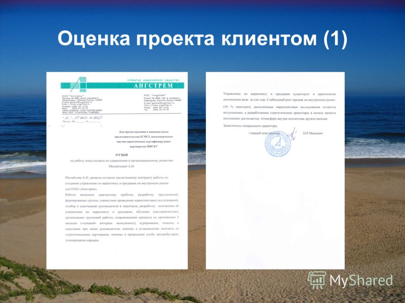 Оценка проекта клиентом (1)