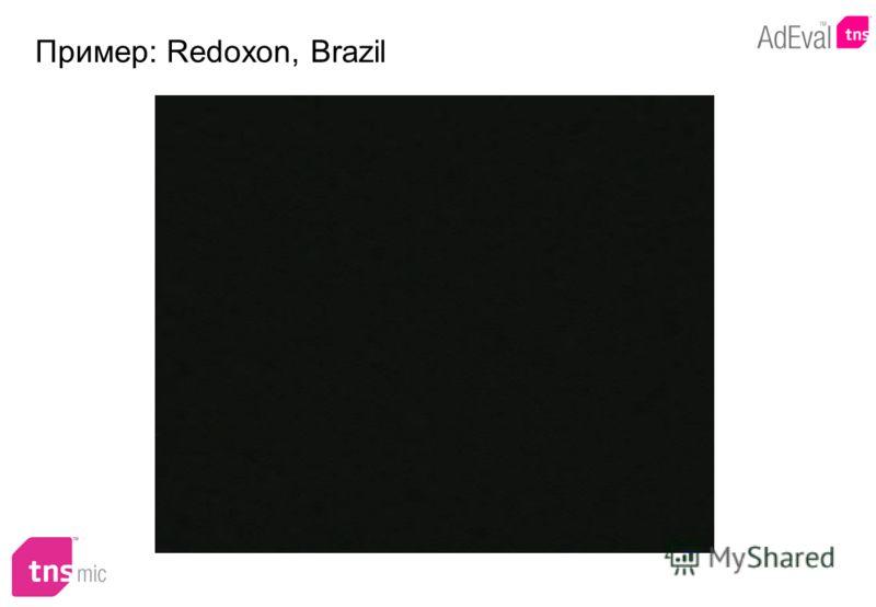 Пример: Redoxon, Brazil