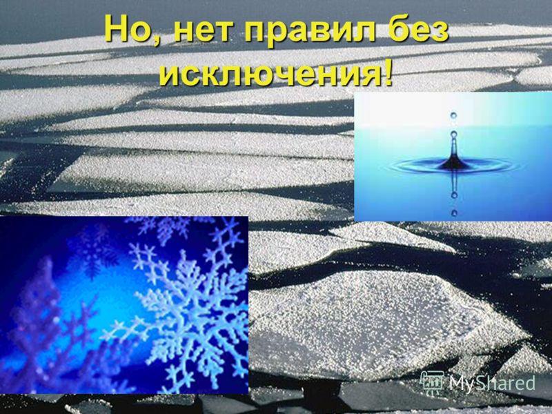 Образующийся зимой лед не тонет, а плавает на поверхности воды, т.к. плотность льда меньше плотности воды. Иначе все водоемы зимой наполнялись бы льдом,и в них не могли бы существовать живые организмы Образующийся зимой лед не тонет, а плавает на пов