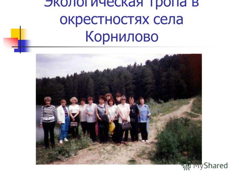 Экологическая тропа в окрестностях села Корнилово