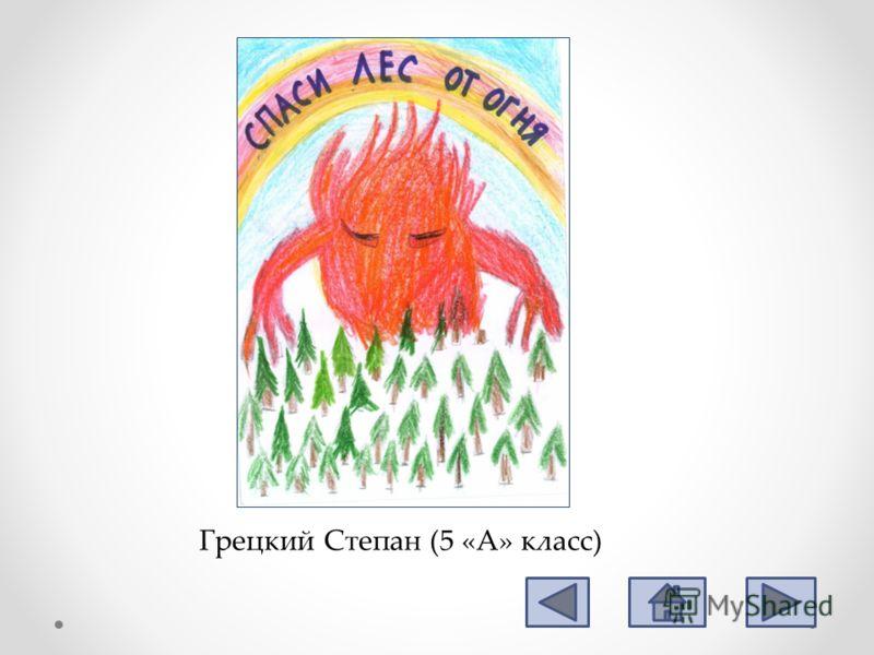 Грецкий Степан (5 «А» класс)