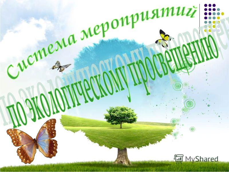 воспитание экологической культуры населения