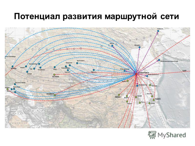 Потенциал развития маршрутной сети