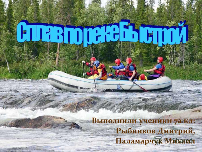 Выполнили ученики 7а кл: Рыбников Дмитрий, Паламарчук Михаил