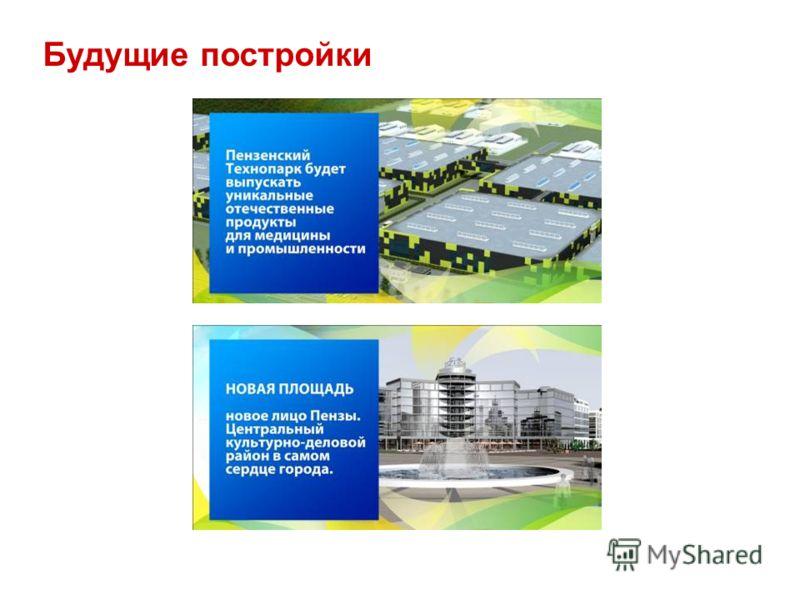 Будущие постройки