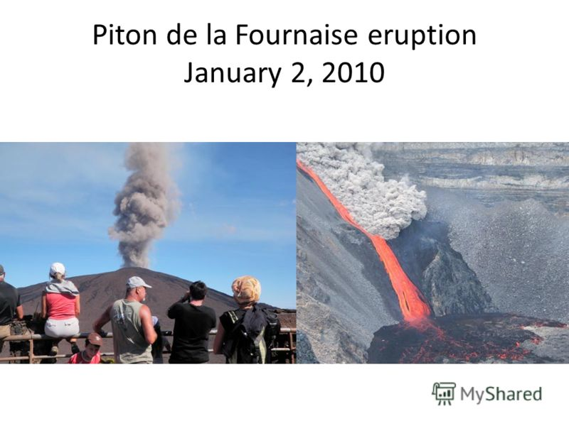 Piton de la Fournaise eruption January 2, 2010