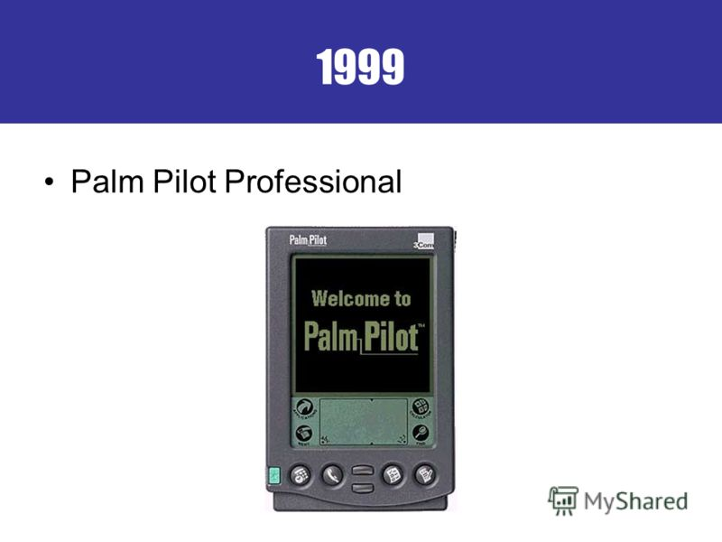 1999 Palm Pilot Professional