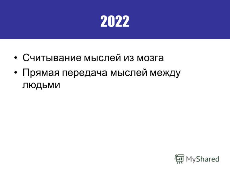 2022 Считывание мыслей из мозга Прямая передача мыслей между людьми