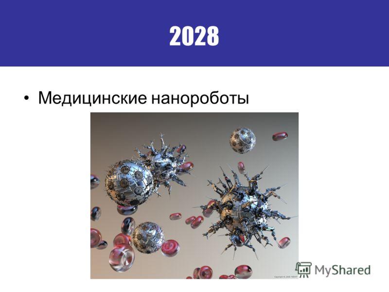 2028 Медицинские нанороботы