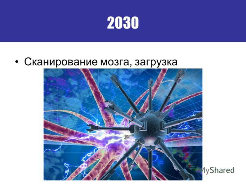 2030 Сканирование мозга, загрузка