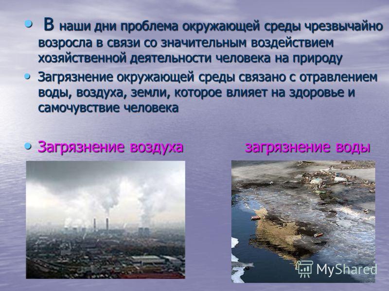 Доклад охрана окружающей среды от химических загрязнений 204