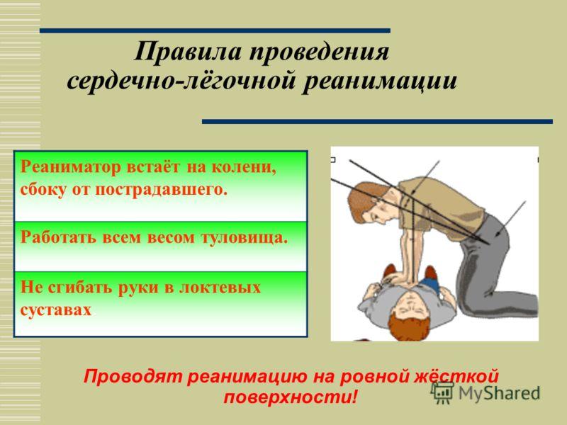 Определение точки надавливания и положение рук -выше на два пальца от мечевидного отростка на грудину -надавливание буграми внутренней поверхности ладони -пальцы ладони не касаются грудной клетки -вторая рука давит сверху на первую в точке приложения