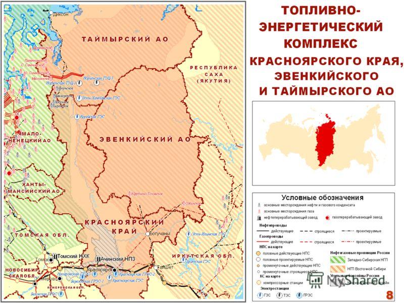 8 -показатели соответствуют показателям Энергетической Стратегии России 8