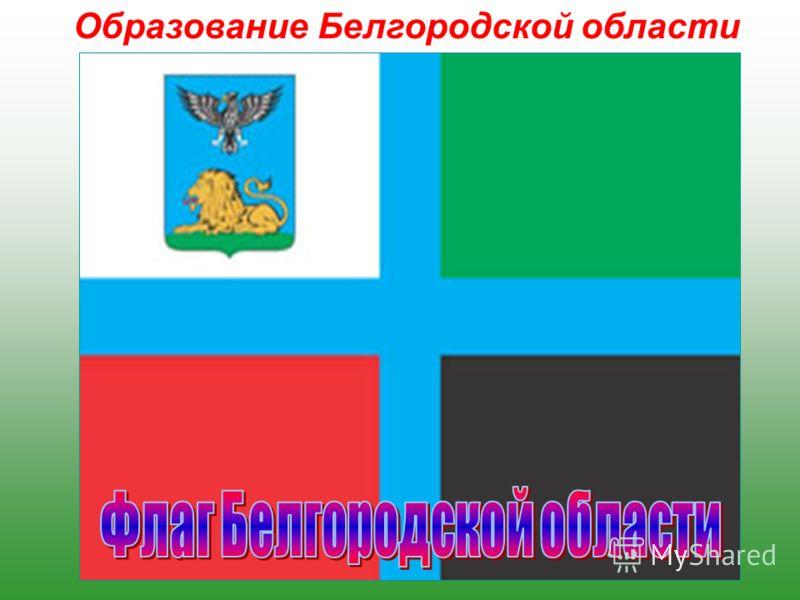 Образование Белгородской области Белгородская область образована 6 января 1954 года, входит в состав Центрально-Черноземного экономического района (ЦЧР) и в Центральный Федеральный округ Российской Федерации. Её площадь составляет 27,1 тыс. кв. км, п