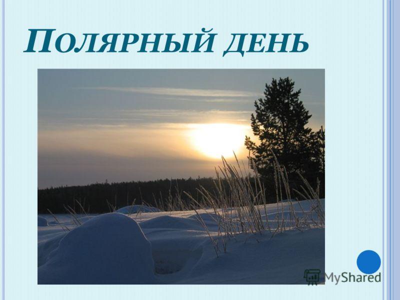 П ОЛЯРНЫЙ ДЕНЬ